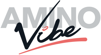 Amino Vibe logo in berry design