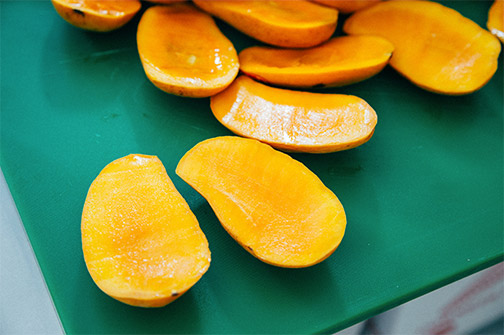 Mango is one of our favourite ingredient